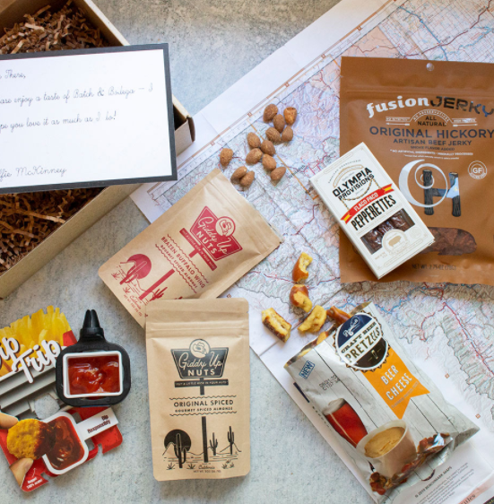 Road Tripper snack kit from Batch and Bodega