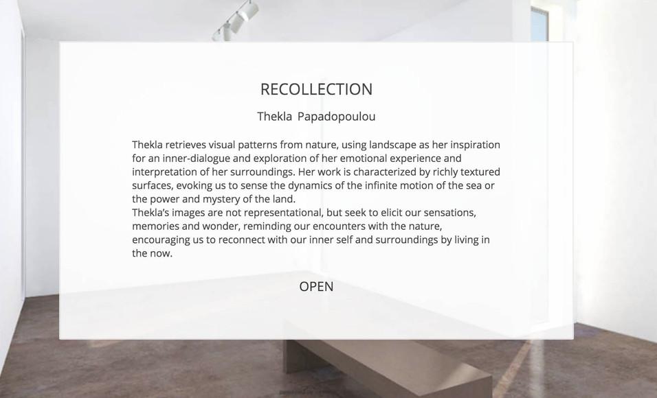 thekla papadopoulou-the art cocoon-recol