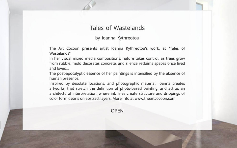 The Art Cocoon-Ioanna Kythreotou-Tales o
