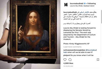 Leonardo da Vinci's painting finds home in Louvre Abu Dhabi