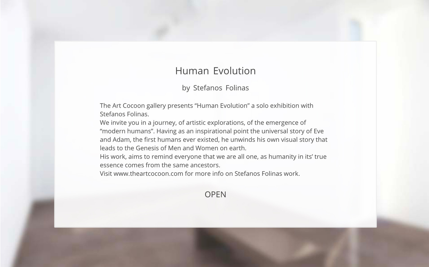Stefanos Folinas-Human Evolution-The Art