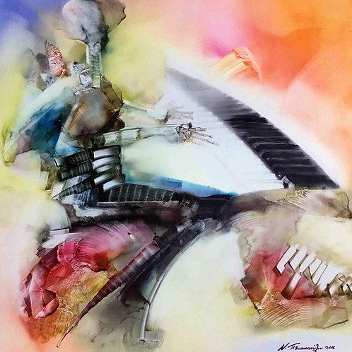 Nefelie Ptochopoulou   Painting