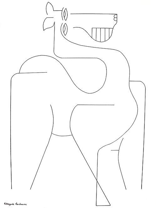 Hildegarde Handsaeme | Drawing