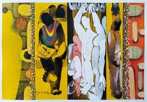 Shrutika Gosavi- Life in a Metro 1-Acryl