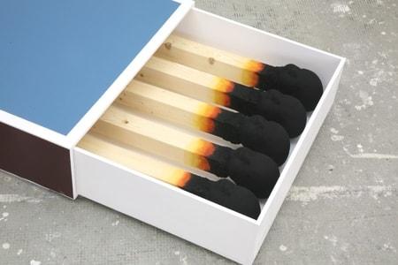 Wolfgang Stiller- small matchbox-150x71x