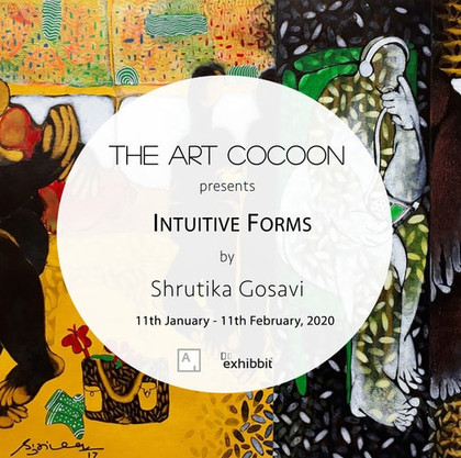'Intuitive Forms' - Solo Exhibition of Shrutika Gosavi