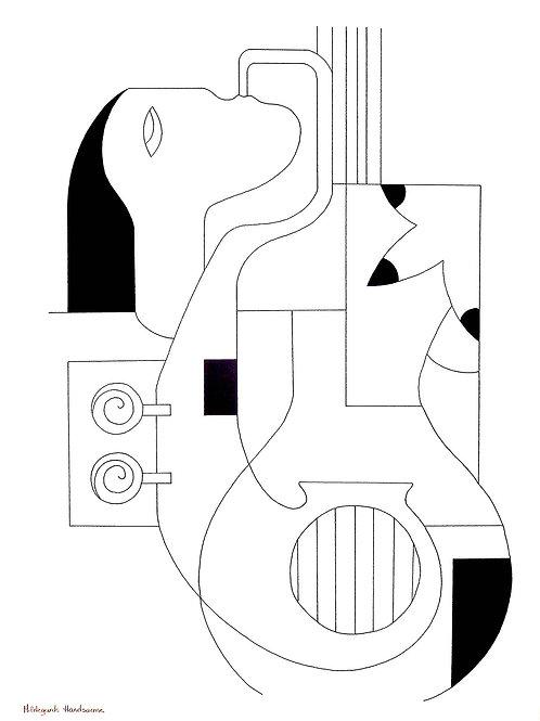 Hildegarde Handsaeme   Drawing