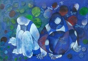 Shrutika Gosavi-Ek Duje Ke Liye-Acrylic