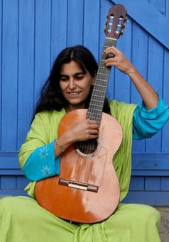 En mode indienne guitare-tampura