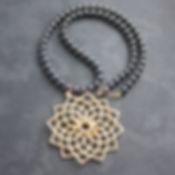 QUATREFOIL 3D Printed Necklace