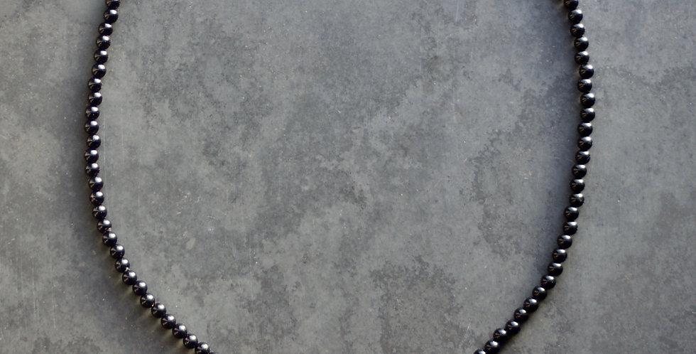Triple LC Onyx Necklace