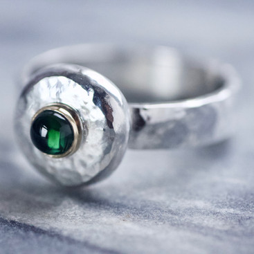 Green Tourmaline Pebble Ring.jpeg