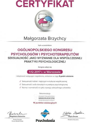 Certyfikat_Kongres_Psychologow