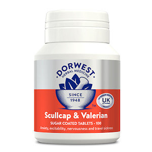 Skullcap & Valerian Tablets