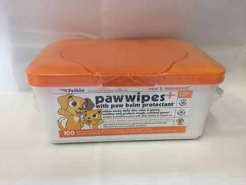 Petkin Paw Wipes - 100 Wipes