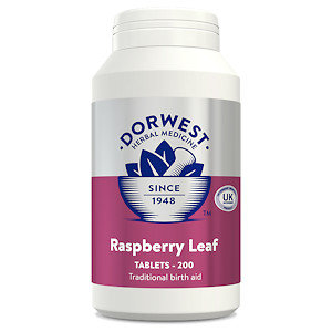 Raspberry Leaf Tablets for Dogs & Cats