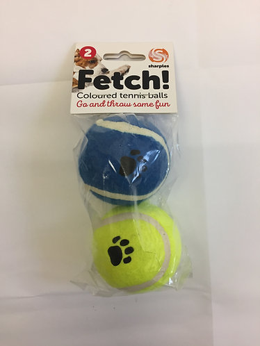 Tennis Balls - Pack of 2