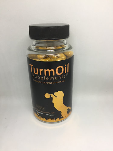 The Golden Paste Company - Turmeric Capsules for Dogs - 90 Capsules
