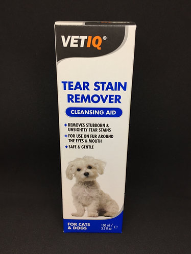 VET IQ Tear Stain Remover - 100ml