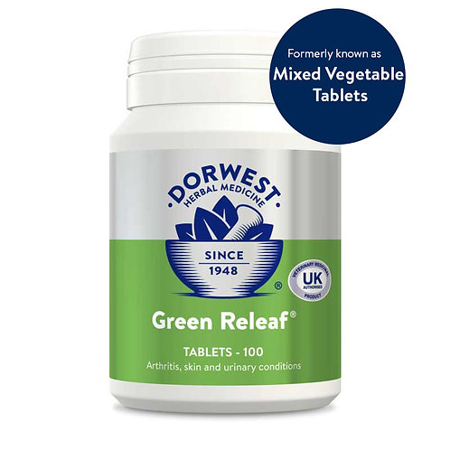 Green Releaf (formerly Mixed Vegetable Tablets)