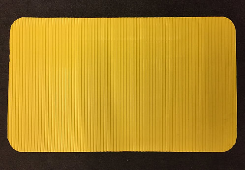 Grooming Table Mat - Yellow Wide Ribbed
