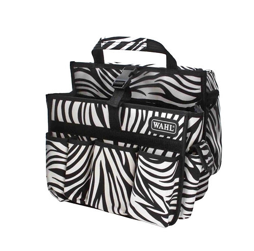 Wahl Dog Grooming Equipment Bag -Zebra Print