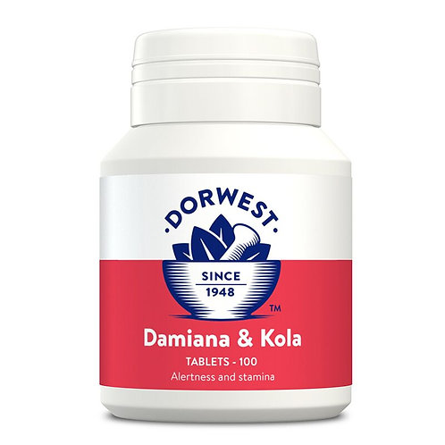 Damiana and Kola Tablets