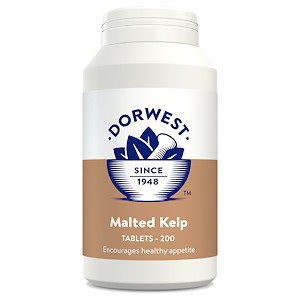 Malted Kelp Tablets for Dogs & Cats