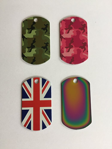 Military I.D Tags