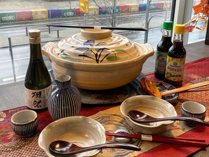 Donabe and hot sake