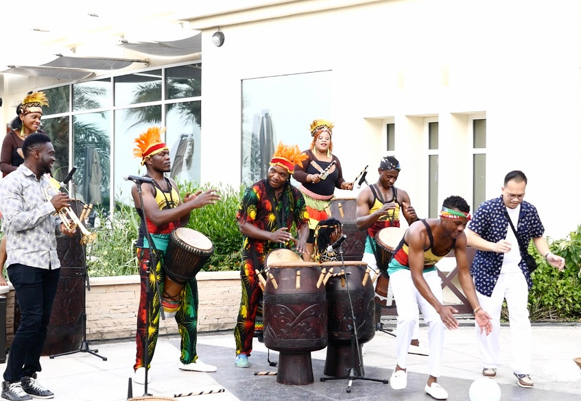 African dance and Drummers Dubai