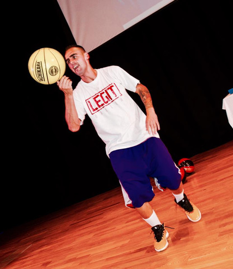Hire Basketball Freestyler and Rugby Freestylers - UK | Red Panda Agency Entertainment