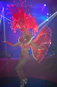 LED samba dancers