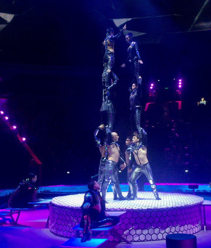 Russia circus artists