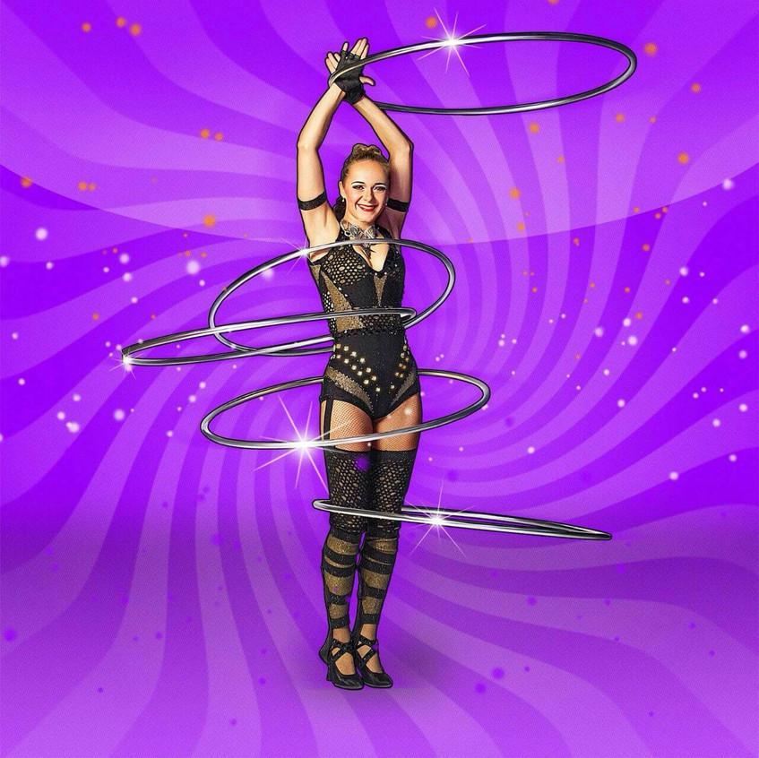 Russian hula hoops