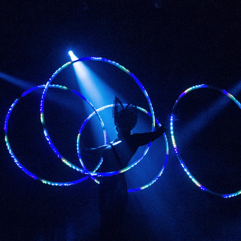 Hula hoops Orfelia LED