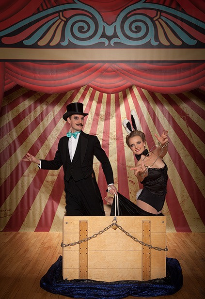Hire Circus Performers - Normal & Josephine - London | Red Panda Agency Entertainment