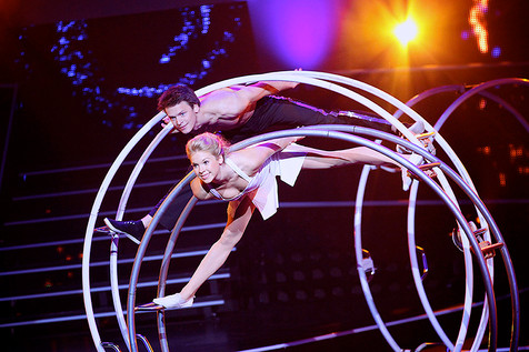 Book or Hire Acrobatic Wheel Sensation - Germany | Red Panda Agency Entertainment