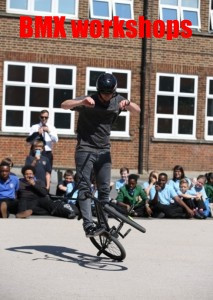 BMX workshops for primary and secondary schools | Red Panda Workshops