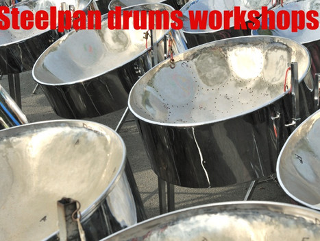 Steel drums workshops for primary and secondary schools | Red Panda Workshops