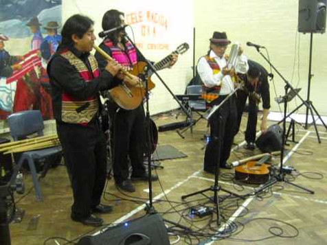 Book or Hire Peruvian Music Band Based in London | Red Panda Agency Entertainment
