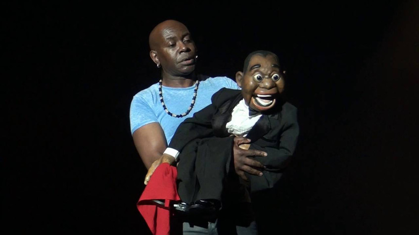 Afro puppet