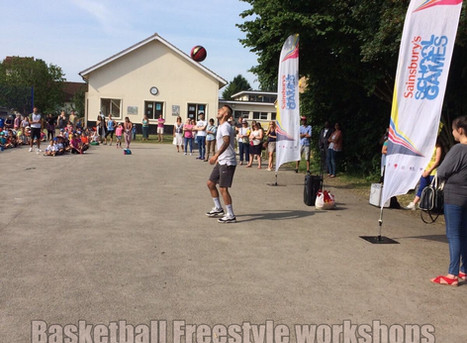 Basketball freestyle workshops for primary and secondary schools | Red Panda Workshops