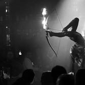 Fire foot archery act.JPG