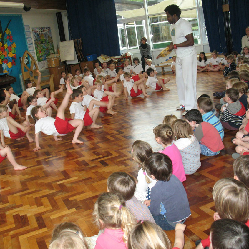Capoeira Workshops for Schools