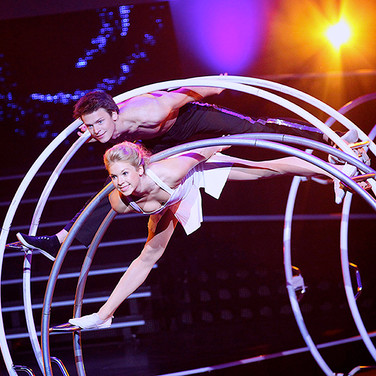 Acrobatic Show Act - Wheel Sensation