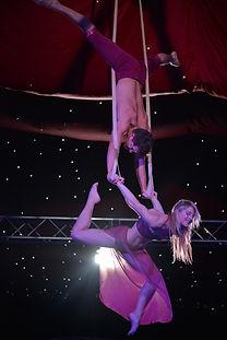 Circus dancers