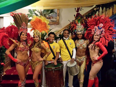 Hire Brazilian Band Percussion and Brazilian Dancers - London