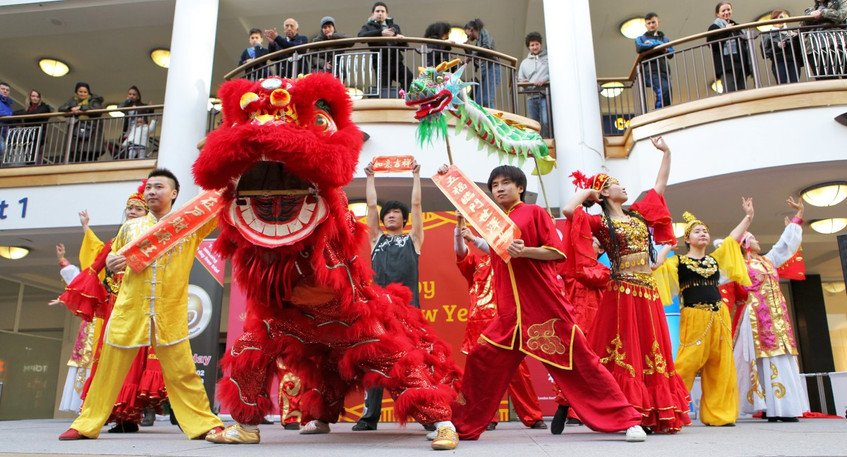 Chinese Dance Workshops for Schools