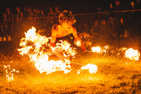 Hire Fire Performer - London - UK | Red Panda Agency Entertainment